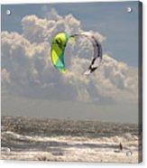 Kite Boarding Buxton Obx  Acrylic Print