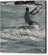 Kite Surfing 23 Acrylic Print