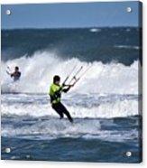 Kite Surfing Acrylic Print