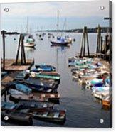 Kittery Point Fishing Boats Acrylic Print