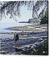 Kitty Colemans Beach - Bc Acrylic Print