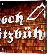 Kitzbuehel Acrylic Print