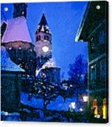 Kitzbuhl At Night-4 Acrylic Print