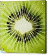 Kiwi Cut Acrylic Print