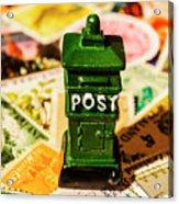 Kiwi Postage Scene Acrylic Print