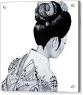 Kiyo Acrylic Print by Lorraine Foster