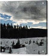Klamath Falls Sunrise Acrylic Print