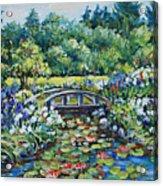 Klehm's Lily Pond II Acrylic Print