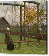Klever, Yuli The Younger 1882-1942 Autumn Twilight Acrylic Print