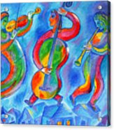 Klezmer On The Roof Acrylic Print