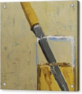 Knife In Glass - After Diebenkorn Acrylic Print