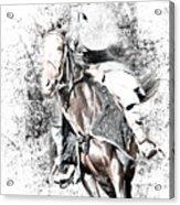 Knight In Armor Acrylic Print