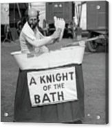 Knight Of The Bath Acrylic Print