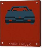 Knight Rider My Favorite Tv Shows Series 020 Acrylic Print