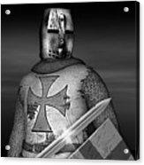 Knight Templar Acrylic Print