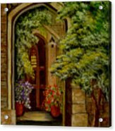 Knight's Door Acrylic Print