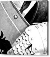 Knight's Hand Acrylic Print