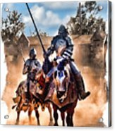 Knights Of Yore Acrylic Print
