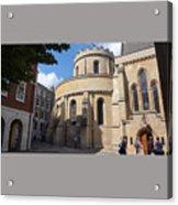 Knights Templar Church- London Acrylic Print