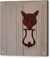 Knock  Knock Acrylic Print