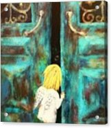 Knocking On Heaven's Door Acrylic Print