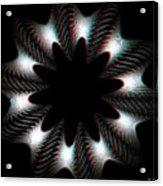 Knotplot 10 - Use Red-cyan 3d Glasses Acrylic Print