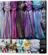 Knotted Scarves Acrylic Print