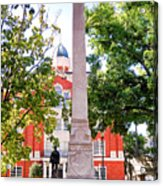 Knoxville Old Courthouse Grounds Acrylic Print