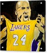 Kobe Bryant Acrylic Print