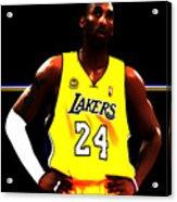Kobe Bryant Ready For Battle Acrylic Print