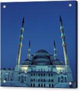 Kocatepe Cami Mosque In Ankara, Turkey Acrylic Print