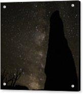Kodachrome Basin Night Sky 2930 Acrylic Print