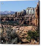 Kodachrome Basin Panorama Acrylic Print