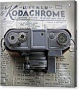 Kodachrome Weekly Acrylic Print