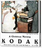 Kodak Advertisement, 1904 Acrylic Print