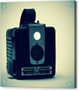 Kodak Brownie Acrylic Print by Bob Orsillo
