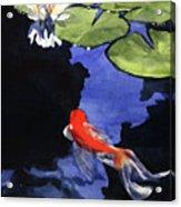 Koi Ballet Acrylic Print