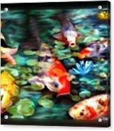 Koi Paradise Acrylic Print
