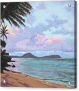 Koko Palms Acrylic Print