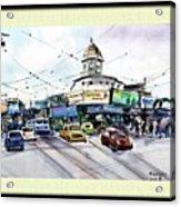 Kolkata Street Acrylic Print