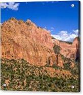 Kolob Canyon Vista Acrylic Print