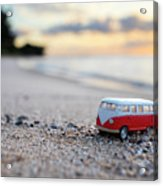 Kombi Beach Acrylic Print