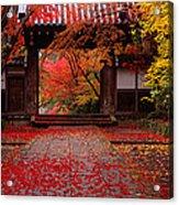 Komyoji Temple  Kyoto Japan Acrylic Print
