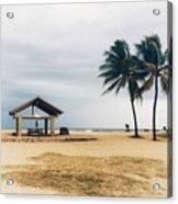 Kona Beach Acrylic Print
