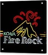 Kona Fire Rock 2 Acrylic Print