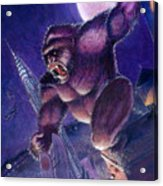 Kong Acrylic Print by Ken Meyer jr