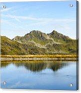 Konigsleiten Mountain Top. Tyrol, Austria Acrylic Print