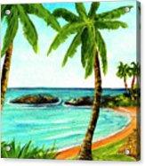 Koolina Lagoon Oahu, Hawaii #343 Acrylic Print