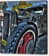 Koolsville Rat Rod. Acrylic Print by Ian  Ramsay