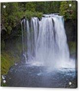 Koosah Falls Acrylic Print